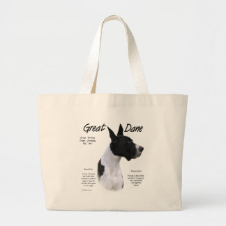 Mantle Great Dane Meet the Breed Large Tote Bag