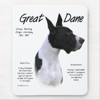 Mantle Great Dane Meet the Breed Mouse Pad