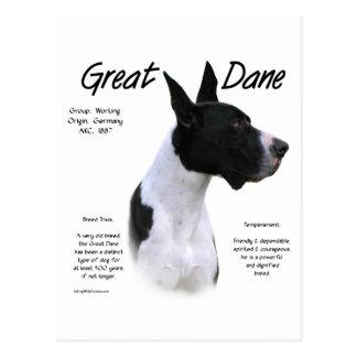 Mantle Great Dane Meet the Breed Postcard