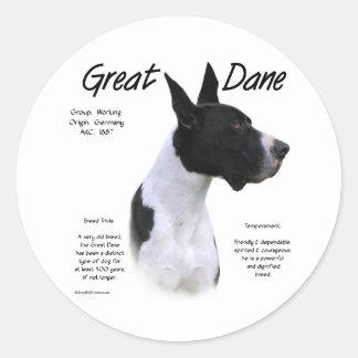 Mantle Great Dane Meet the Breed - Sticker