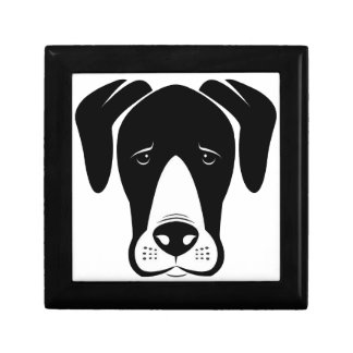 Mantle Great Danes Jewelry Box