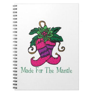 Mantle Stocking Spiral Notebooks