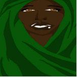 Mantón esmeralda 2 (Sketchbook favorable) Escultura Fotografica