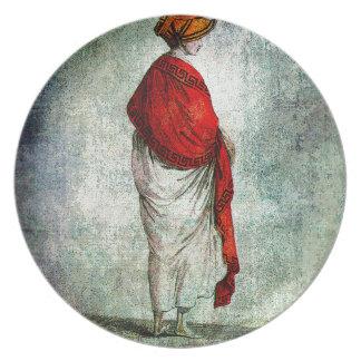 MANTÓN ROJO 1799.jpg de las SEÑORAS DE MODA Platos Para Fiestas