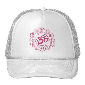 Mantra budista del ronquido de OM Mani Padme Gorras