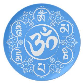 Mantra budista del ronquido de OM Mani Padme