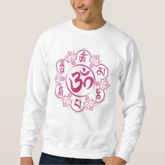 Mantra budista del ronquido de OM Mani Padme Sudadera