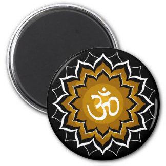 Mantra Chakra Refrigerator Magnets