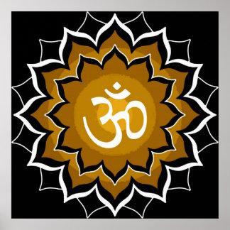 Mantra Chakra Poster