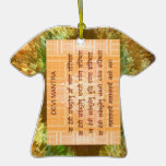 Mantra de DEVI - Hinduism antiguo del Hindi de San Ornamentos De Navidad