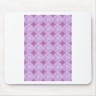 Mantra de OM: Canto púrpura de OMMANTRA Tapete De Raton