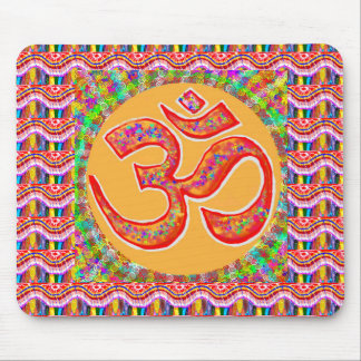 MANTRA Dedication: OMmantra Mouse Pad