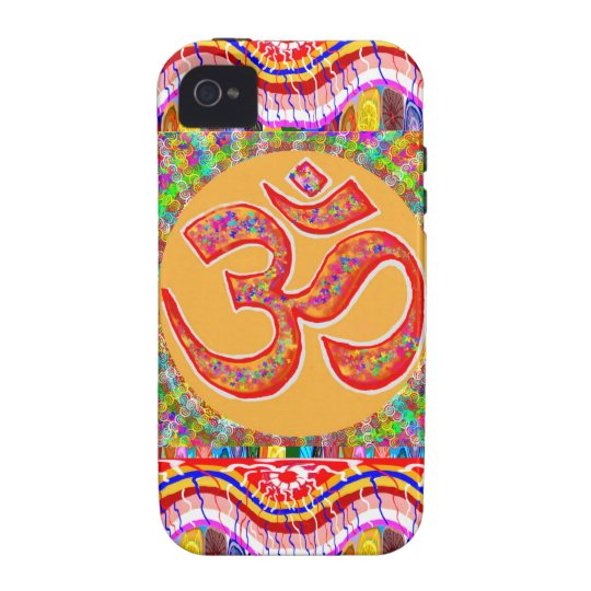 MANTRA Dedication: OMmantra Vibe iPhone 4 Cover