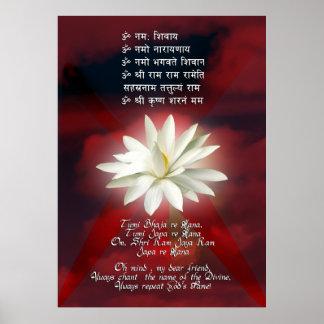 Mantra del amor póster