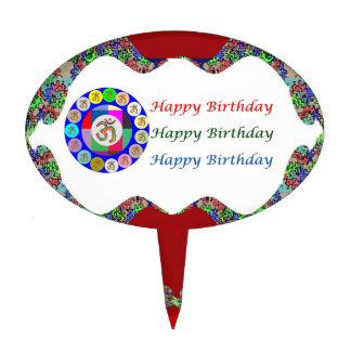 Mantra HappyBirthday OMMANTRA de OM Decoraciones Para Tartas