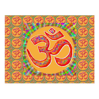 Mantra OmMantra : Perfect True Holy RobeColor Postcard