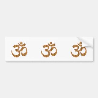 MANTRA OmMantra Yoga Meditation Chant Hinduism gif Car Bumper Sticker