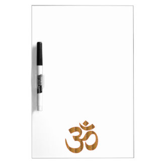 MANTRA OmMantra Yoga Meditation Chant Hinduism gif Dry-Erase Whiteboards