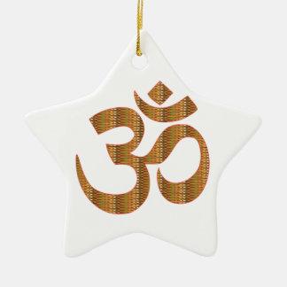 MANTRA OmMantra Yoga Meditation Chant Hinduism gif Christmas Ornament