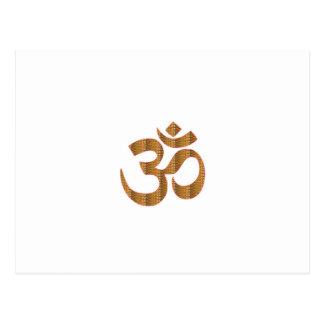 MANTRA OmMantra Yoga Meditation Chant Hinduism gif Postcard