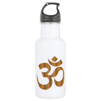 MANTRA OmMantra Yoga Meditation Chant Hinduism gif Stainless Steel Water Bottle