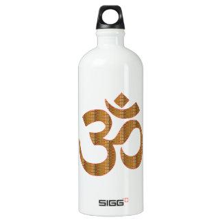 MANTRA OmMantra Yoga Meditation Chant Hinduism gif Water Bottle