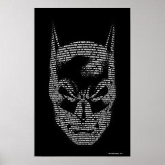 Mantra principal de Batman Póster