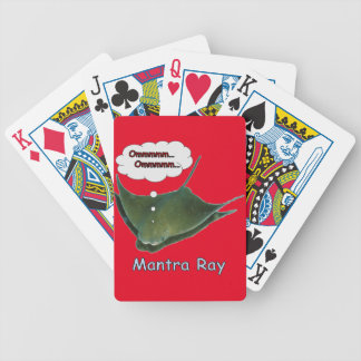 Mantra Ray. Bicycle Playing Cards