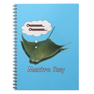 Mantra Ray Notebook