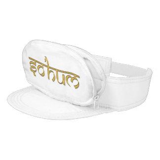 Mantra SO HUM - gold sprinkles + your ideas Visor