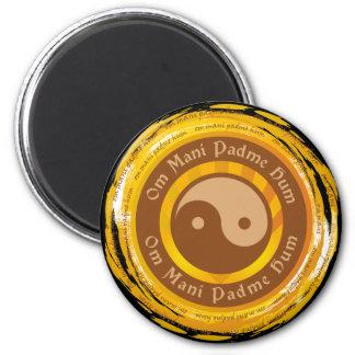 Mantra tibetano Yin Yang Iman De Nevera