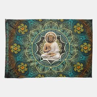 Mantra to Shakyamuni Buddha Hand Towels