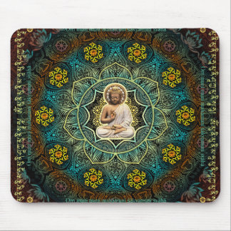 Mantra to Shakyamuni Buddha Mouse Pads