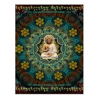 Mantra to Shakyamuni Buddha Postcard