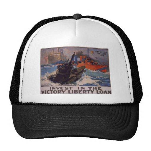 Mantuvieron las rutas marítimas abiertas gorras de camionero