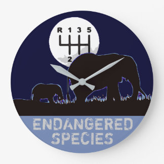 MANUAL - Endangered Large Clock