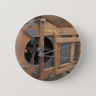 Manual machine used to shell the corn pinback button