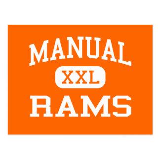 Manual - Rams - High School - Peoria Illinois Postcard