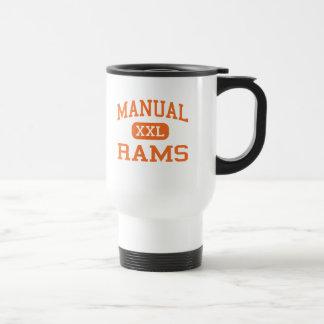 Manual - Rams - High School - Peoria Illinois Travel Mug