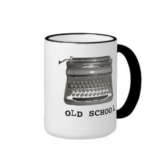"""Manual Typewriter """"Old School"""" Mug Mug"""