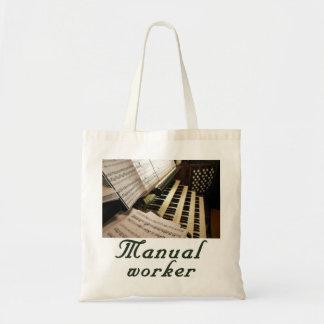 Manual Worker budget tote Bag