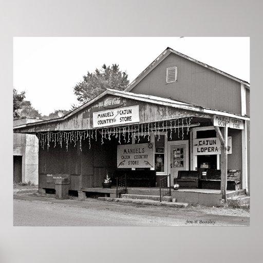 Manual's Cajun Country Store Print