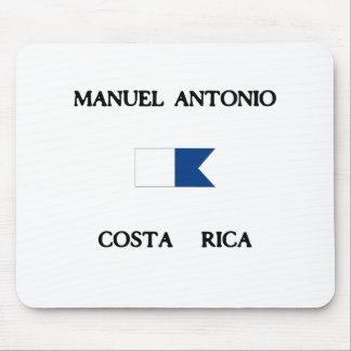 Manuel Antonio Costa Rica Alpha Dive Flag Mouse Pad