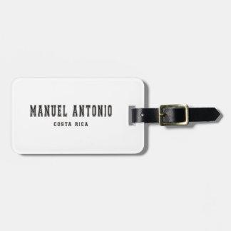 Manuel Antonio Costa Rica Tag For Luggage