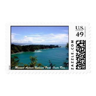 Manuel Antonio National Park, Costa Rica Stamp
