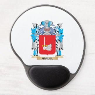 Manuel Coat of Arms - Family Crest Gel Mouse Pads