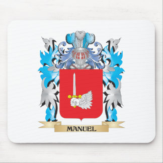 Manuel Coat of Arms - Family Crest Mouse Pad