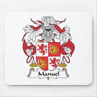 Manuel Family Crest Mouse Mats