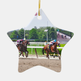 """Manuel Franco guides """"From The Point to Victory Ceramic Ornament"""