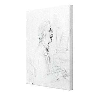 Manuel Garcia Stretched Canvas Prints